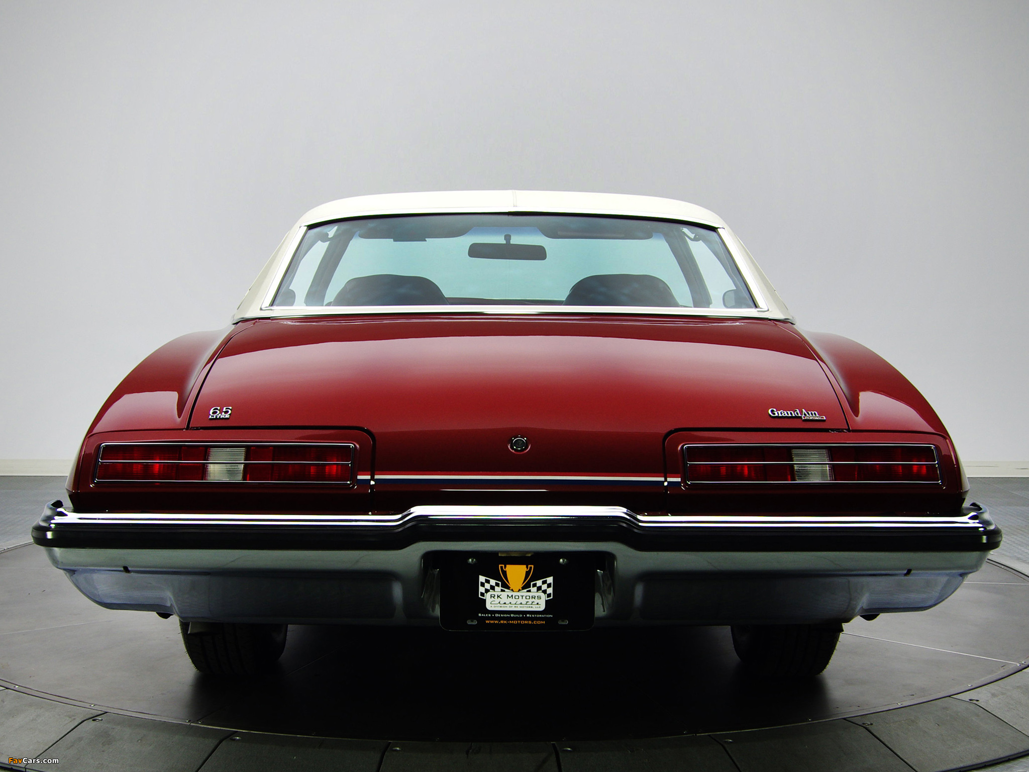 Images of Pontiac Grand Am Solonnade Hardtop Coupe (H37) 1973 (2048 x 1536)