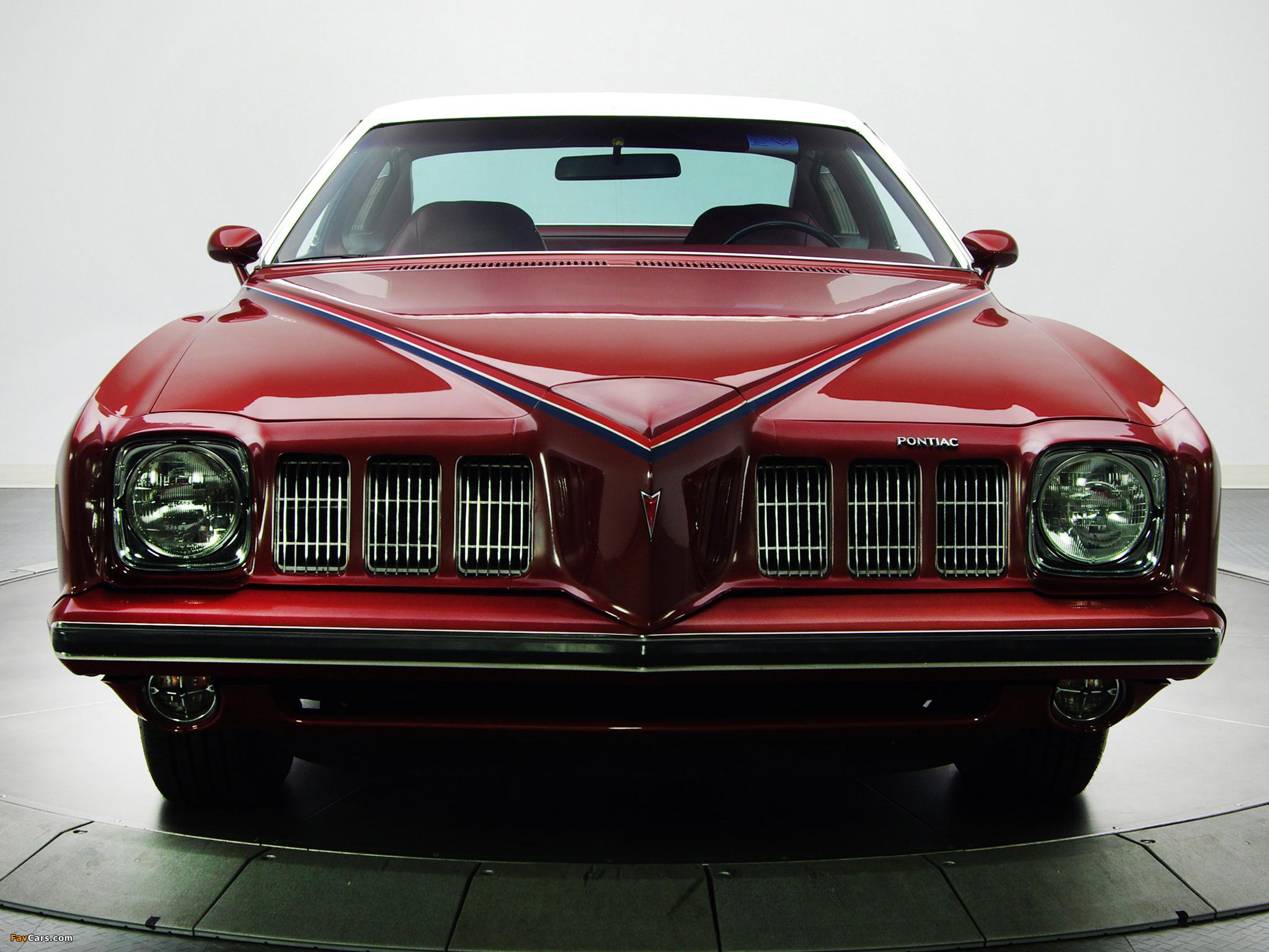 Photos of Pontiac Grand Am Solonnade Hardtop Coupe (H37) 1973 (2048 x 1536)