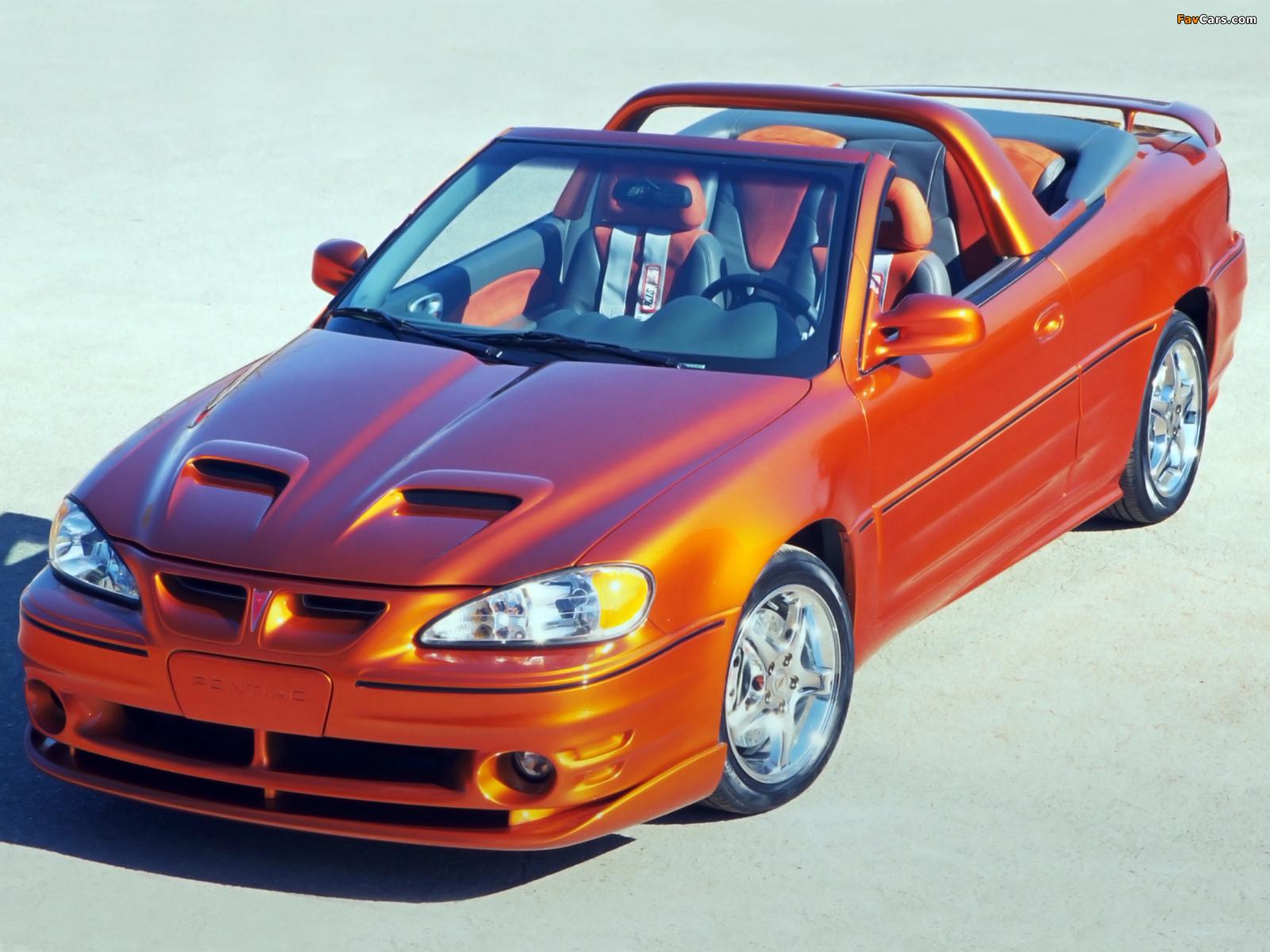 Photos of Pontiac Grand Am SC/T Concept 2000 (1600 x 1200)