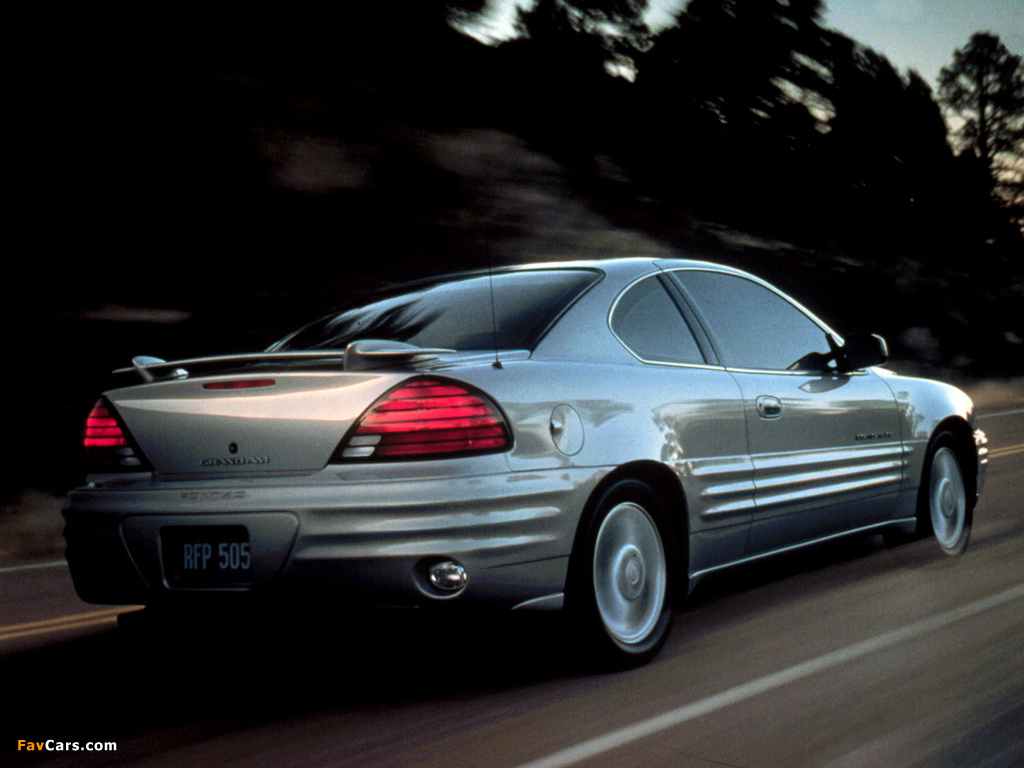 Pictures of Pontiac Grand Am Coupe 1999–2005 (1024 x 768)