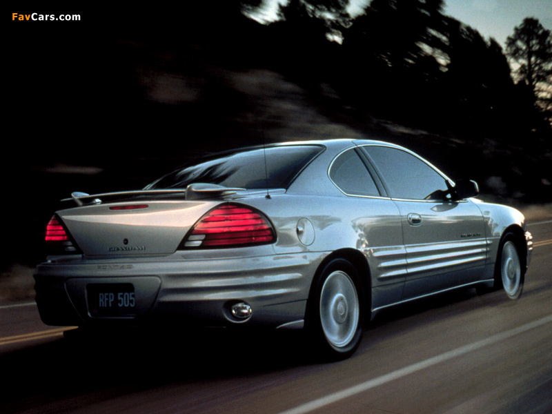 Pictures of Pontiac Grand Am Coupe 1999–2005 (800 x 600)