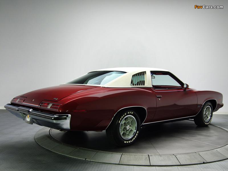 Pontiac Grand Am Solonnade Hardtop Coupe (H37) 1973 pictures (800 x 600)