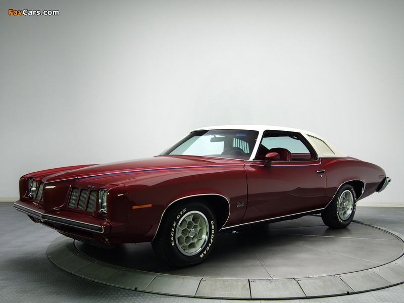 Pontiac Grand Am Solonnade Hardtop Coupe (H37) 1973 wallpapers (800 x 600)