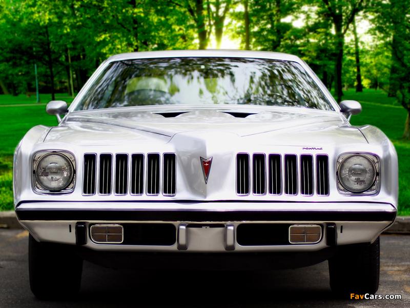 Pontiac Grand Am Colonnade Hardtop Coupe (H37) 1974 pictures (800 x 600)
