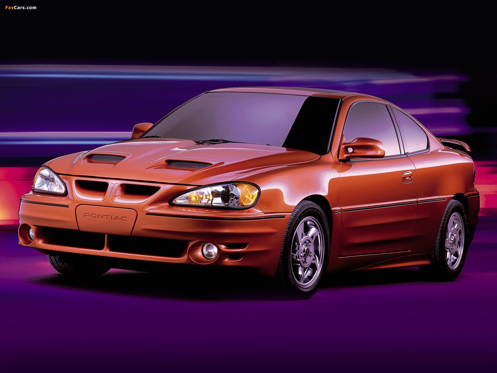 Pontiac Grand Am Coupe 1999–2005 images (1600 x 1200)