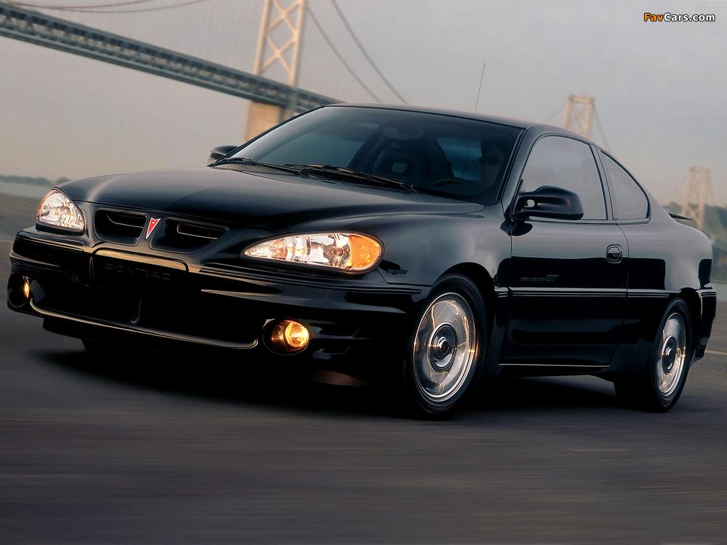 Pontiac Grand Am GT Coupe 1999–2005 photos (1024 x 768)