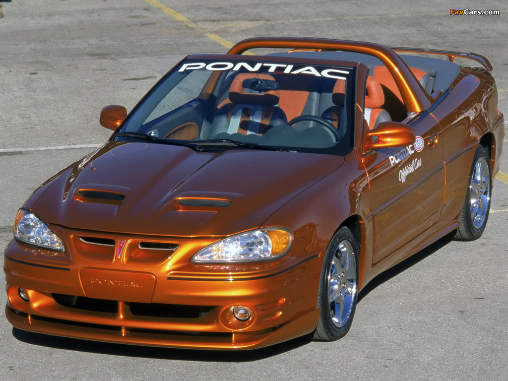 Pontiac Grand Am NHRA Pro Stock Pace Car 2001 images (1024 x 768)