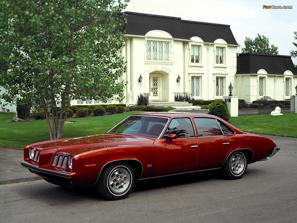 Pontiac Grand Am 1973–75 pictures (1024 x 768)