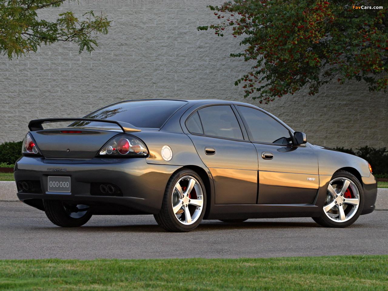 Pontiac Grand Am GXP Concept 2002 photos (1280 x 960)
