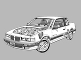 Pontiac Grand Am LE Coupe 1985–88 wallpapers