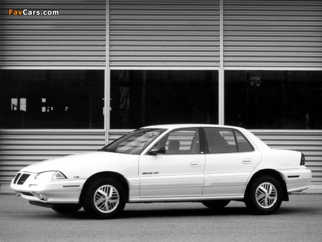 Pontiac Grand Am Sedan 1992–95 wallpapers (640 x 480)