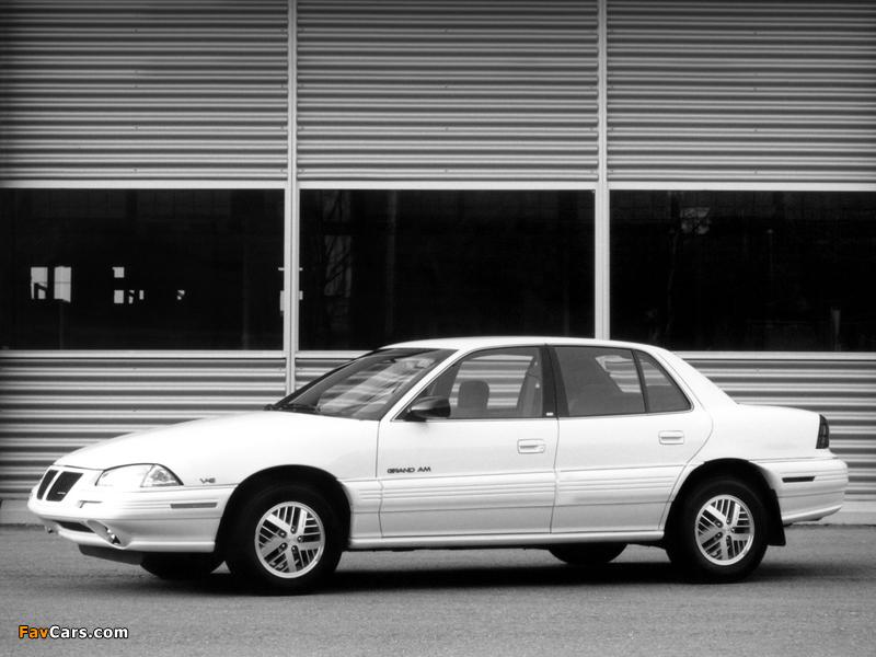Pontiac Grand Am Sedan 1992–95 wallpapers (800 x 600)
