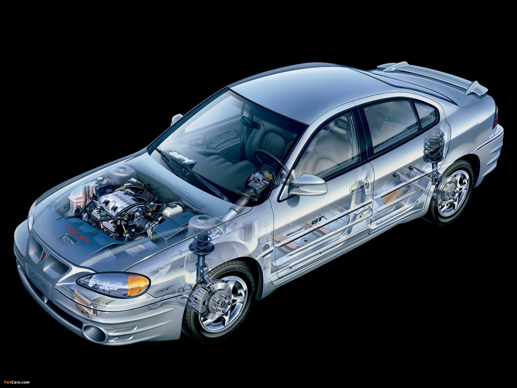 Pontiac Grand Am 1999–2005 wallpapers (2048 x 1536)
