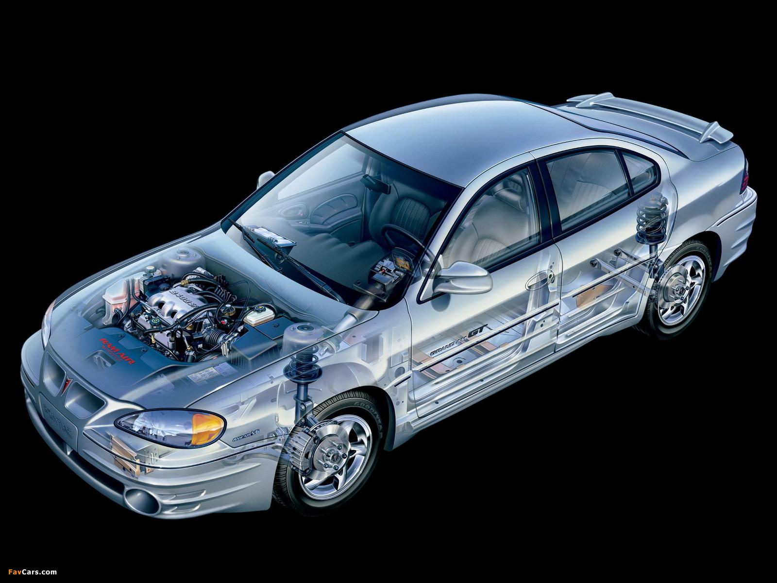Pontiac Grand Am 1999–2005 wallpapers (1600 x 1200)