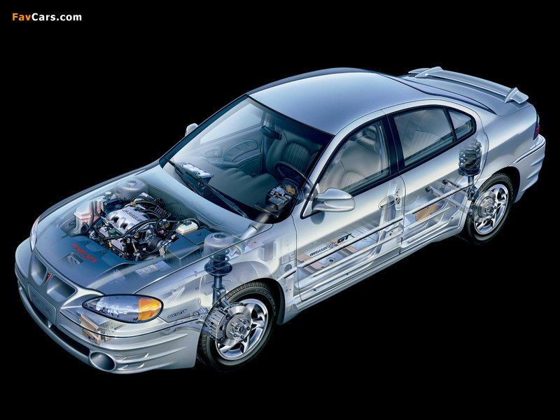 Pontiac Grand Am 1999–2005 wallpapers (800 x 600)
