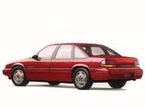 Photos of Pontiac Grand Prix Sedan 1989–93