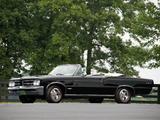 Images of Pontiac Tempest LeMans GTO Convertible 1964