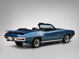 Images of Pontiac GTO Convertible (4267) 1970