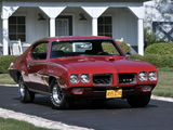 Photos of Pontiac GTO Hardtop Coupe (4237) 1970