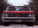 Pontiac Tempest LeMans GTO Convertible 1964 photos
