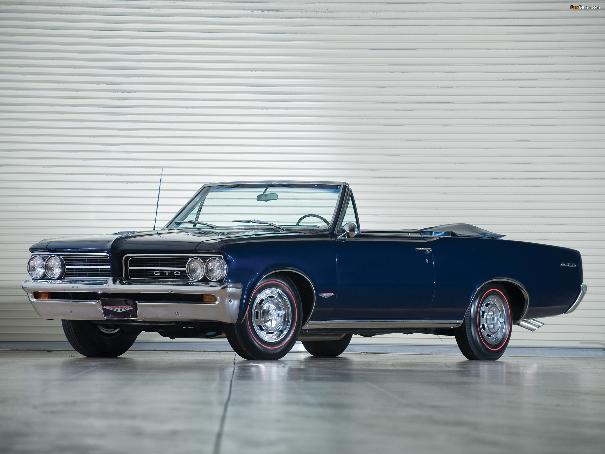 Pontiac Tempest Lemans Gto Convertible 1964 Wallpapers