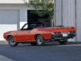 Pontiac GTO The Judge Convertible (4267) 1969 wallpapers