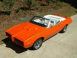 Pontiac GTO The Judge Convertible (4267) 1969 wallpapers