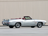 Pontiac GTO The Judge Convertible (4267) 1970 pictures