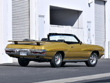Pontiac GTO The Judge Convertible 1971 pictures