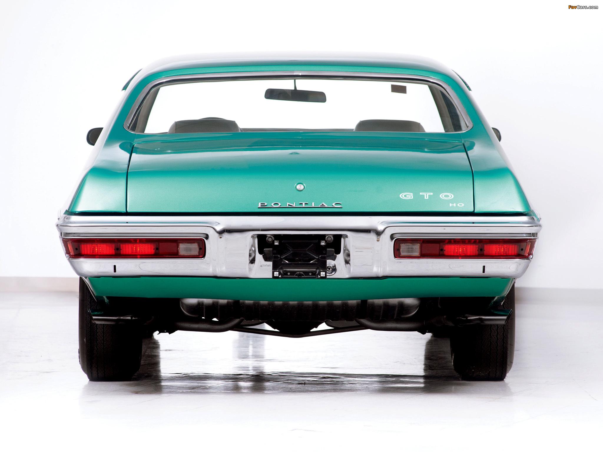 Pontiac GTO Coupe 1972 photos (2048 x 1536)