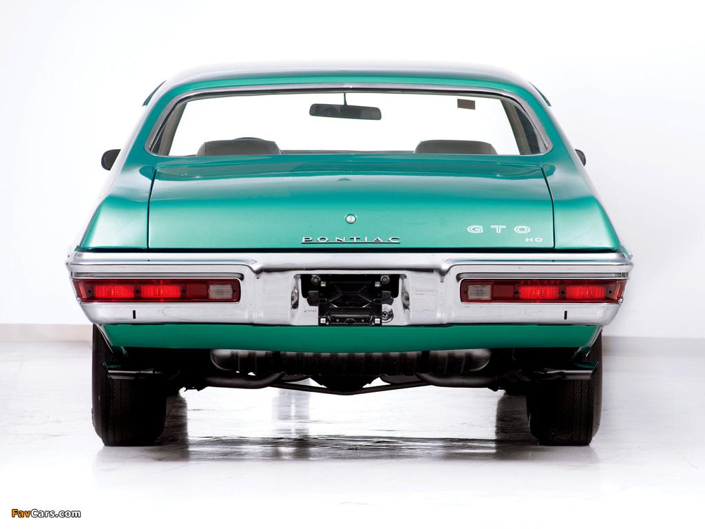 Pontiac GTO Coupe 1972 photos (1024 x 768)