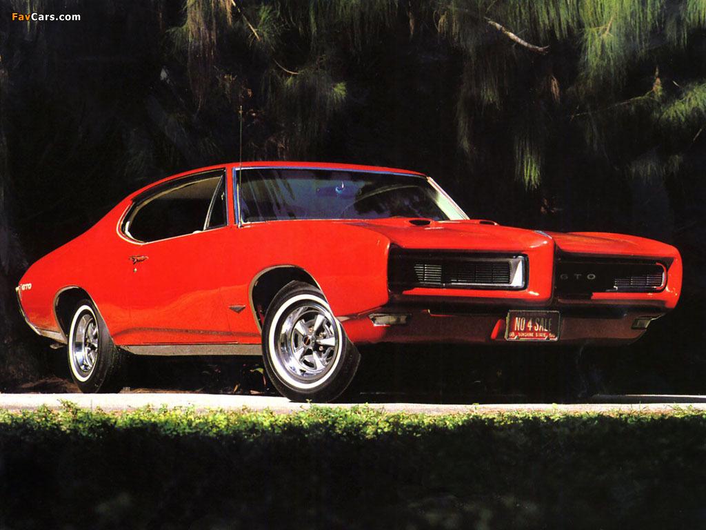Pontiac Gto Hardtop Coupe 1968 Wallpapers 1024x768