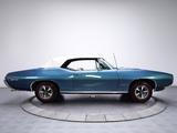 Pontiac GTO Convertible 1968 wallpapers
