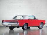 Images of Pontiac Tempest LeMans GTO Convertible 1965