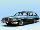 Pictures of Pontiac Grand LeMans Safari Wagon 1976