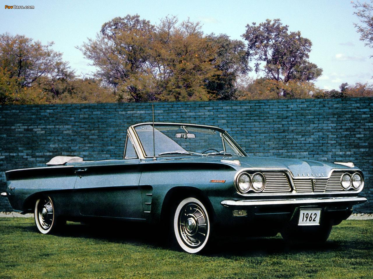 Pontiac Tempest Lemans Convertible 1962 Photos 1280x960
