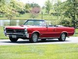 Pontiac Tempest LeMans GTO Convertible 1965 pictures