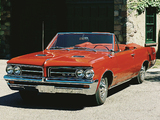 Pontiac Tempest LeMans GTO Convertible 1964 wallpapers