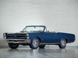 Pontiac Tempest LeMans GTO Convertible 1965 wallpapers