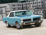 Pontiac Tempest LeMans GTO Convertible 1965 wallpapers
