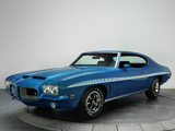 Pontiac LeMans GTO Hardtop Coupe (D37) 1972 wallpapers