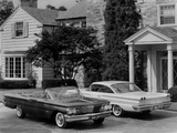 Pontiac Bonneville Convertible & Ventura Sport Coupe 1960 wallpapers
