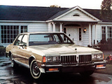 Pontiac Parisienne Sedan 1984 wallpapers