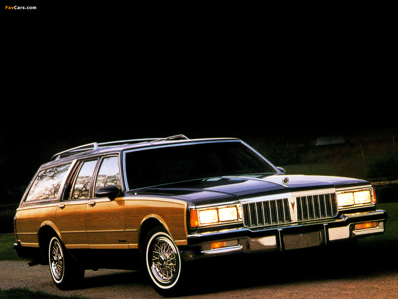 Pontiac Safari Station Wagon 1988 photos (1280 x 960)