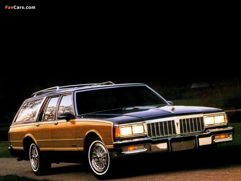 Pontiac Safari Station Wagon 1988 photos (800 x 600)
