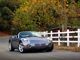 Pontiac Solstice 2005–09 photos