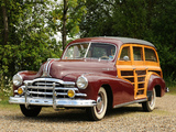 Pontiac Streamliner 8 Silver Streak Station Wagon 1948 wallpapers