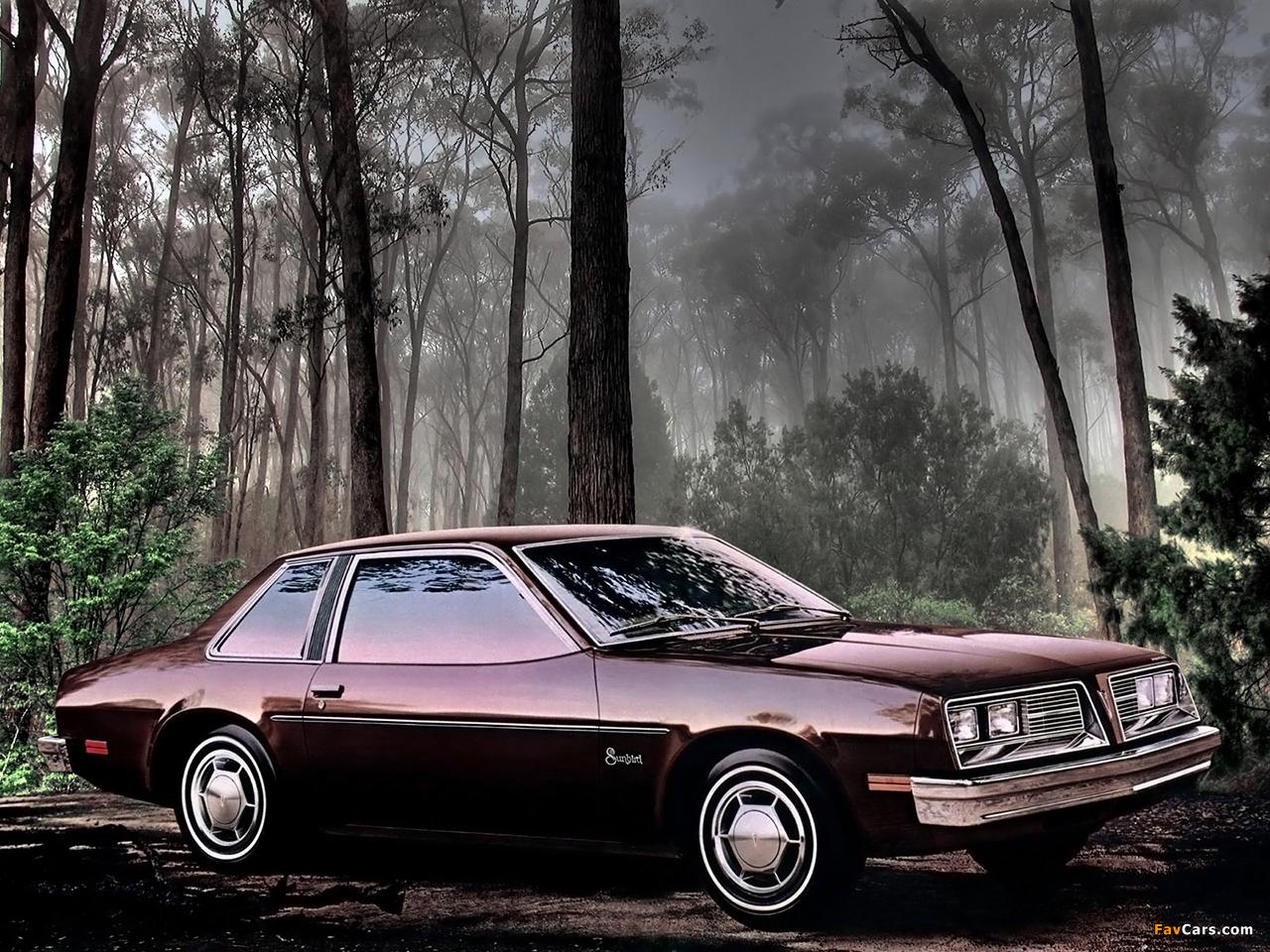 Images of Pontiac Sunbird Coupe (2H-E27) 1979 (1280 x 960)