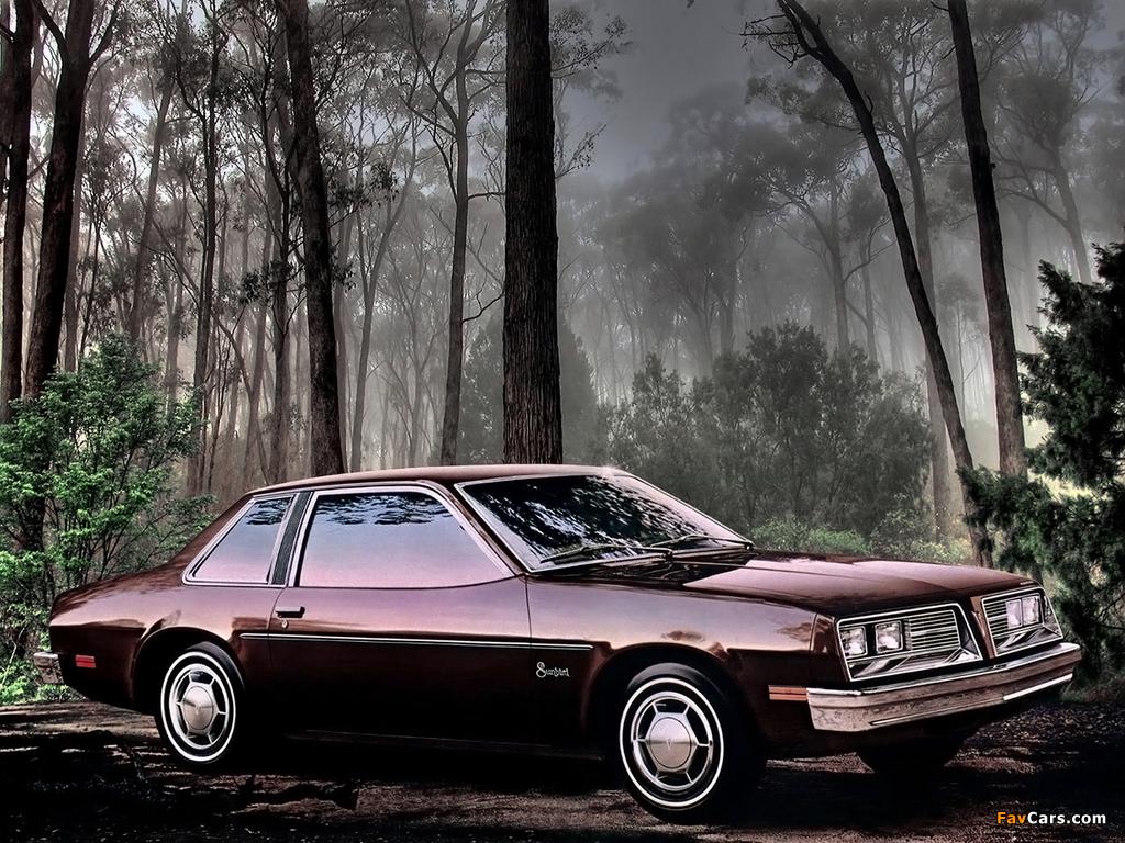 Images of Pontiac Sunbird Coupe (2H-E27) 1979 (1024 x 768)