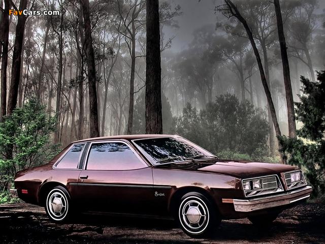 Images of Pontiac Sunbird Coupe (2H-E27) 1979 (640 x 480)